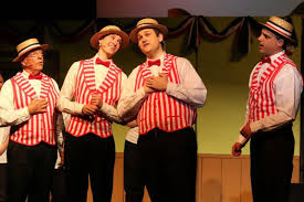 Indiana travelling salesman images Quick as a wink theatre 39 s the music man delights hants county jpg