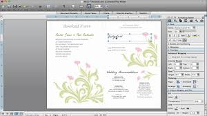 Words For A Wedding Invitation How To Make Wedding Invitations In Microsoft Word Youtube