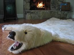 Polar Bear Fur Rug Bizarre Yet Awesome Bear Skin Rugs Med Art Home Design Posters