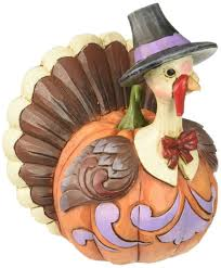 enesco heartwood creek jim shore thanksgiving mini pumpkin turkey