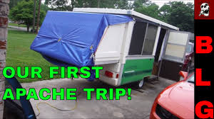 First Up Replacement Canopy by Apache Pop Up Camper First Trip Easy Canopy Idea Youtube