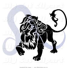 royalty free silhouette stock big cat designs