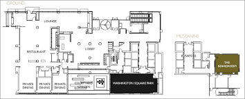 New Floor Plan Meeting Space In Midtown Manhattan â U20ac U201c Intercontinental New York