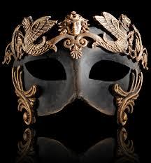 masquerade masks men colombina barocco grifone bronze mens masquerade mask masquerade