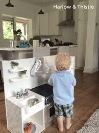 diy play kitchen harlow thistle home design lifestyle diy