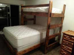 Twin Full Bunk Bed Plans Free by Bunk Beds Full Over Queen Bunk Beds Twin Loft Bed With Desk Free