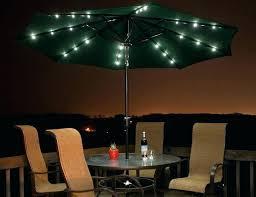 solar powered umbrella lights patio led patio umbrella outdoor feet solar powered led stripe