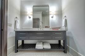 Polished Nickel Bathroom Mirrors by Polished Nickel Mirror Powder Room Transitional With Metallic