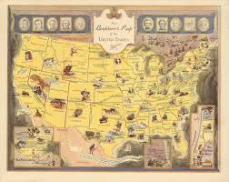 Map Of The United States In 1860 by Genres Of Southern Literature Southern Spaces