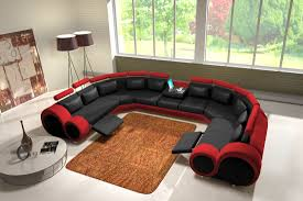 sofa schwarz jvmoebel ledersofa couch sofa ecksofa modell berlin iv u form