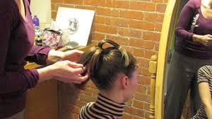 short ballroom hair cuts easy ballroom style for short hair youtube