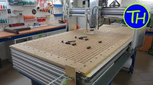 cnc router table 4x8 homemade cnc router with built in vacuum table and holes like the