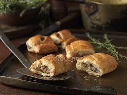gourmet sausage christmas snack of gourmet sausage rolls stock photo 167709638