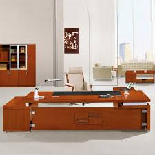 Executive Office Desk Furniture 4pc L Shape Modern Contemporary Executive Office Desk Set Al Sed