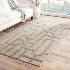 Taupe Area Rug Alden Handmade Trellis Gray Taupe Area Rug 5 X 8 5 X 8