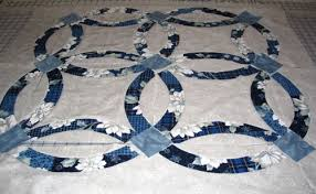 Double Wedding Ring Quilt by Double Wedding Ring Quilt Made By Jean
