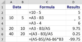 How To Complete A Spreadsheet How To Subtract Numbers In Excel