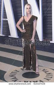 Vanity Fair Katy Perry 2017 Vanity Fair Oscar Party Stock Images Royalty Free Images