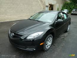 ebony black 2012 mazda mazda6 i sport sedan exterior photo