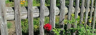 cloture jardin bois comment faire une clôture en bois au jardin