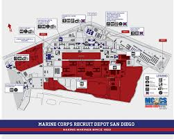 San Diego International Airport Map by Base Map U2013 Marine Corps Community Services Mcrd San Diego