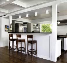 Breakfast Counters Small Kitchens Small Kitchen Cool Small Breakfast Bar Espresso Wooden Bar Stool