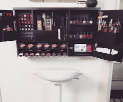 Makeup Organizer Desk Mounted Makeup Organizer