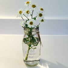 glass milk bottle vase glass milk bottle wild flower vase