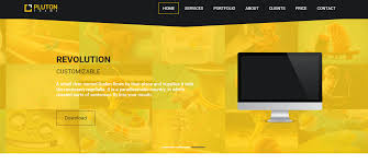 free website templates dreamweaver 16 best free dreamweaver templates for 2015 85ideas com pluton free single page bootstrap html template