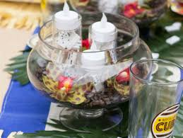 party centerpieces throw a cuban themed party