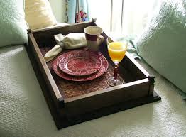 breakfast in bed table build a breakfast in bed tray matt and shari