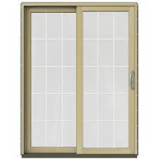 Home Depot Jeld Wen Interior Doors Jeld Wen 59 1 4 In X 79 1 2 In W 2500 Arctic Silver Prehung Left