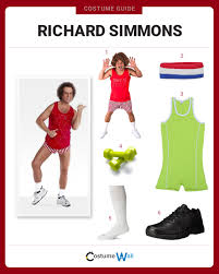 Richard Simmons Halloween Costumes Dress Richard Simmons Costume Halloween Cosplay Guides
