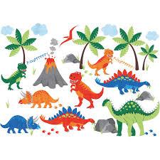 nursery decor jojo maman bebe dinosaur wall stickers
