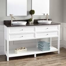 White Double Vanity 60 White Double Sink Vanity Signature Hardware
