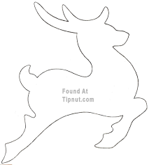 outlines of a reindeer how to make cookie cutters more