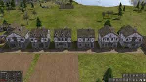 beta new medieval town v0 6 with 3 story medieval houses