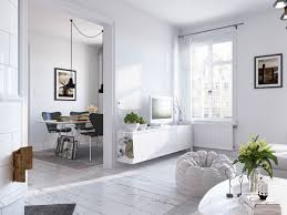 Scandinavian Home by Bright Scandinavian Decor In 3 Small One Bedroom Apartments