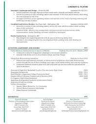 marketing skills resume