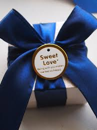 Blue Favors by Navy Blue Wedding Shower Favors Navy Blue Charcoal Gray Chevrons