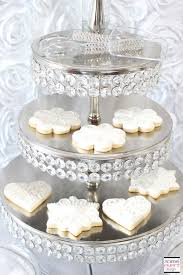 Bridal Shower Dessert Table Winter White Bridal Shower Sweets Table The All White Color