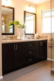 Narrow Bathroom Storage by Bathroom Brown Vanity Bathroom Ideas White Sink Vanity Black