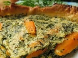 cuisiner le tofu soyeux tarte aux fanes de carottes et tofu soyeux recette ptitchef