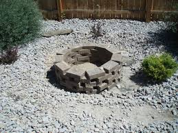 garden composing the fire pit ideas cheap outdoor fire pit
