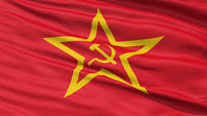 Stalin Flag Realistic 3d Seamless Looping Soviet Union Flag Motion Background