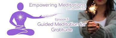 guided meditation for gratitude thanksgiving meditation