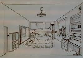 dessin chambre en perspective magnifique chambre en perspective vue salle familiale est comme