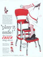 Vintage Cosco High Chair Cosco Metal Furniture Advertisement Gallery