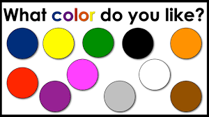 colour color colors what color do you like english speaking practice esl