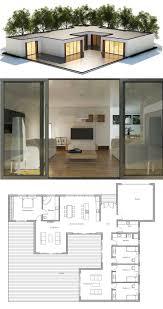 Modern Architecture Floor Plans Modern Contemporary House Plan Modern Architecture Pinterest